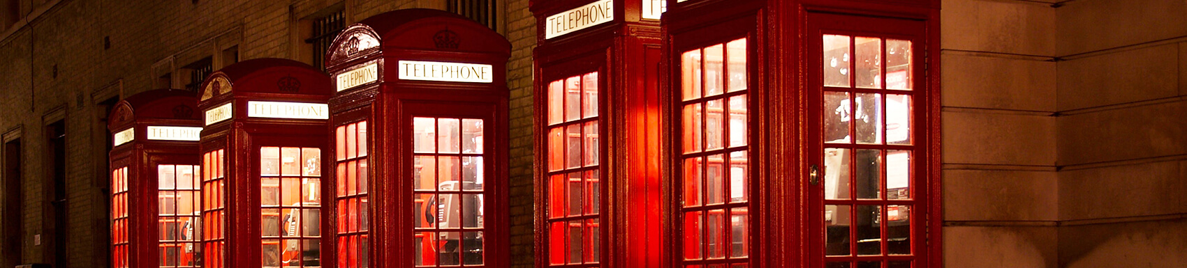 contact us - phone booths