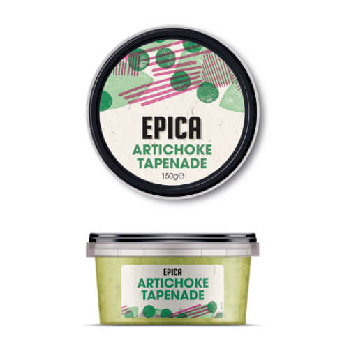 epica artichoke tapenade vegetable dip