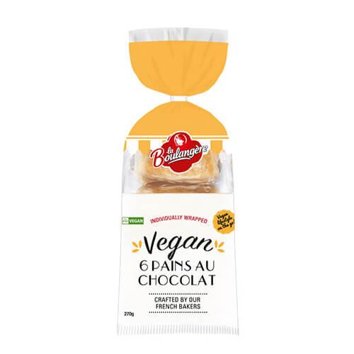 vegan pains au chocolat