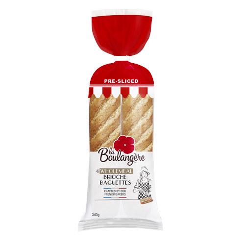 Wholemeal baguettes